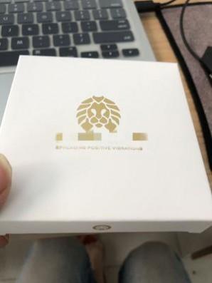 现货 小狮子包装盒 手链礼品盒子 烫金小狮子吊卡 工厂定制批发