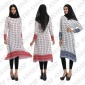 马逊速卖通热卖新款中东阿拉伯女装长袍民族风印花长裙连衣裙女